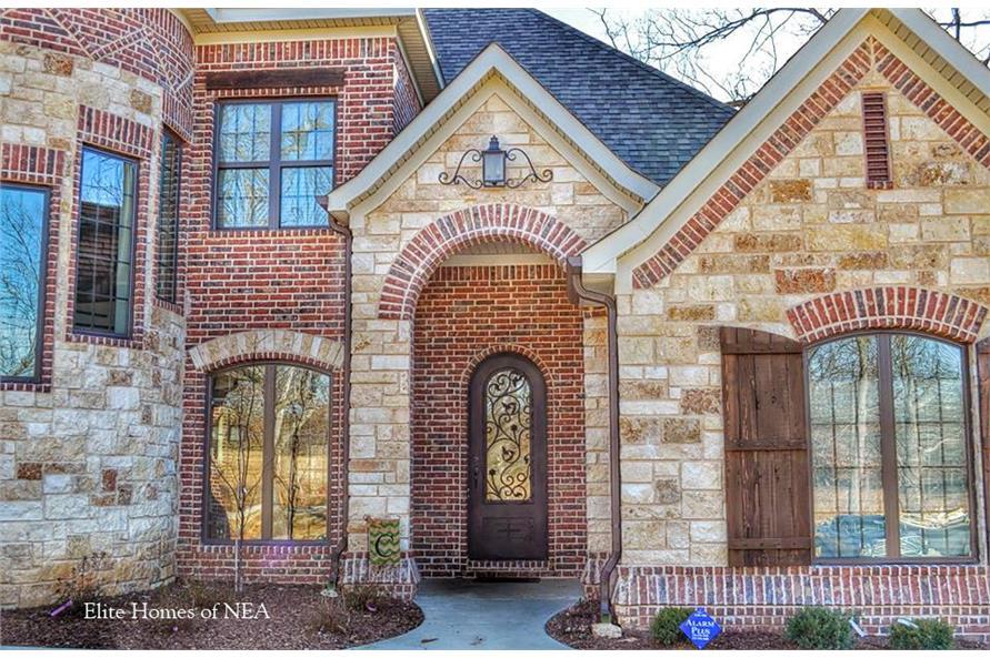 153-1990: Home Exterior Photograph-Front Door
