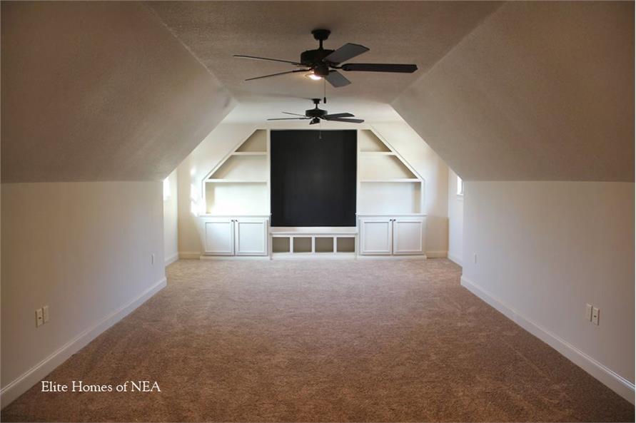 153-1990: Home Interior Photograph-Media Room - Bonus Room