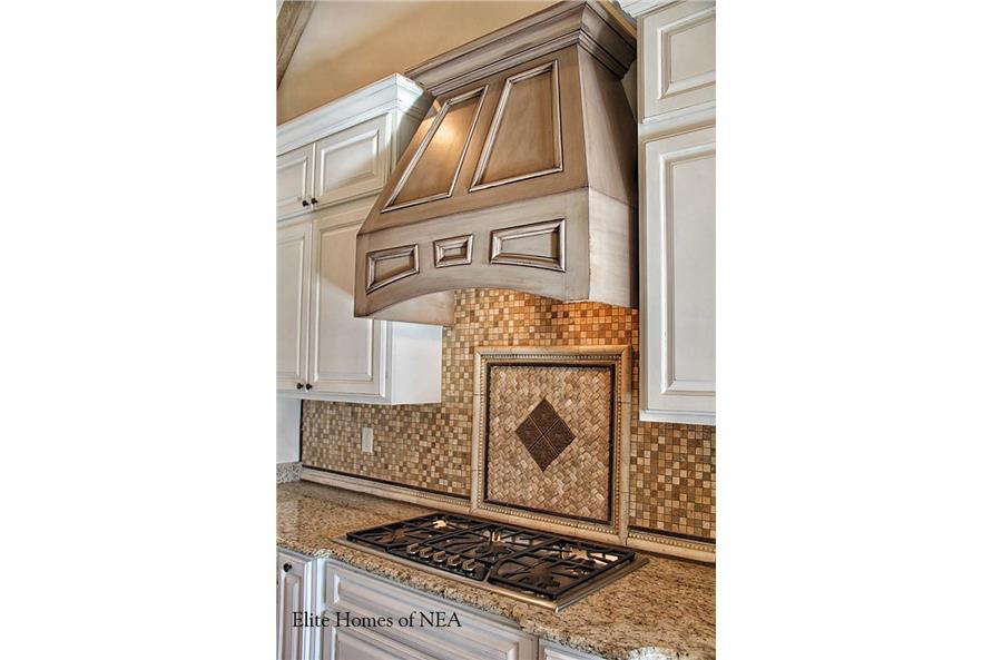 153-1990: Home Interior Photograph-Kitchen - stove / range.