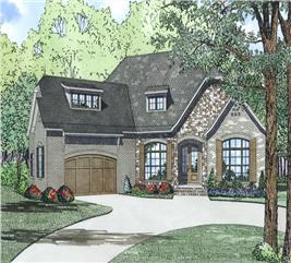 House Plan #153-1992