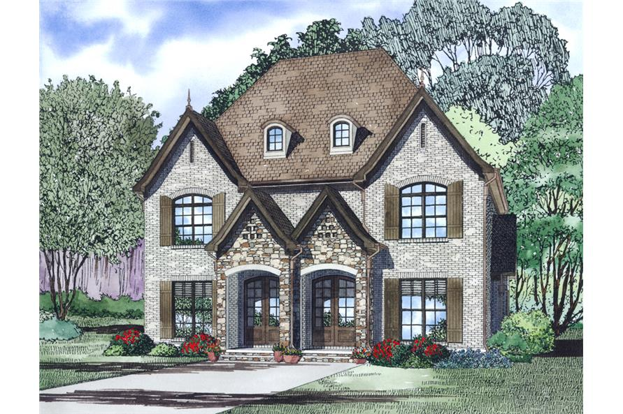 Duplex Plan 153 1998 2 Units 2 Bdrm 1 510 Sq Ft Multi