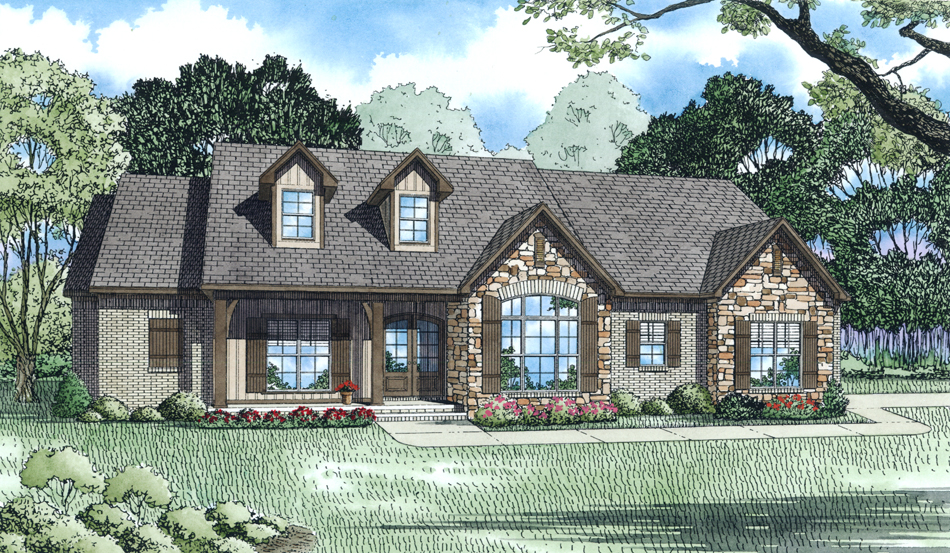 House Plan #153-2013: 3 Bdrm, 2,401 Sq Ft Ranch Home