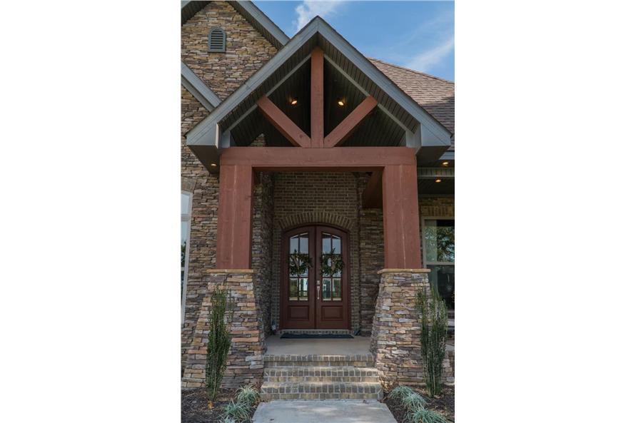 Front Door of this 3-Bedroom,2252 Sq Ft Plan -2252