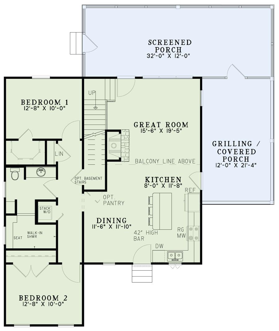 House Plan 153 2024 3 Bdrm 1 560 Sq Ft Farmhouse Home