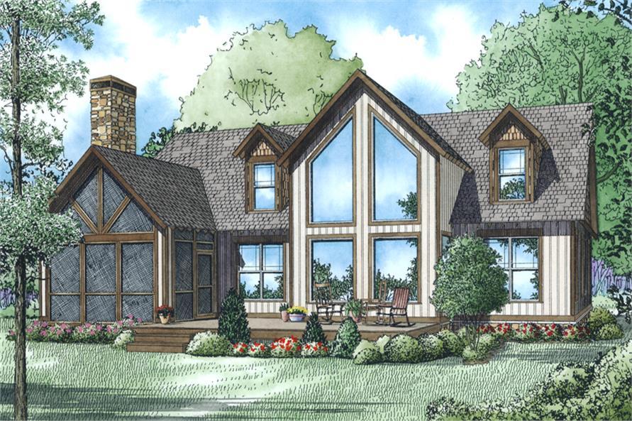153-2033: Home Plan Rendering