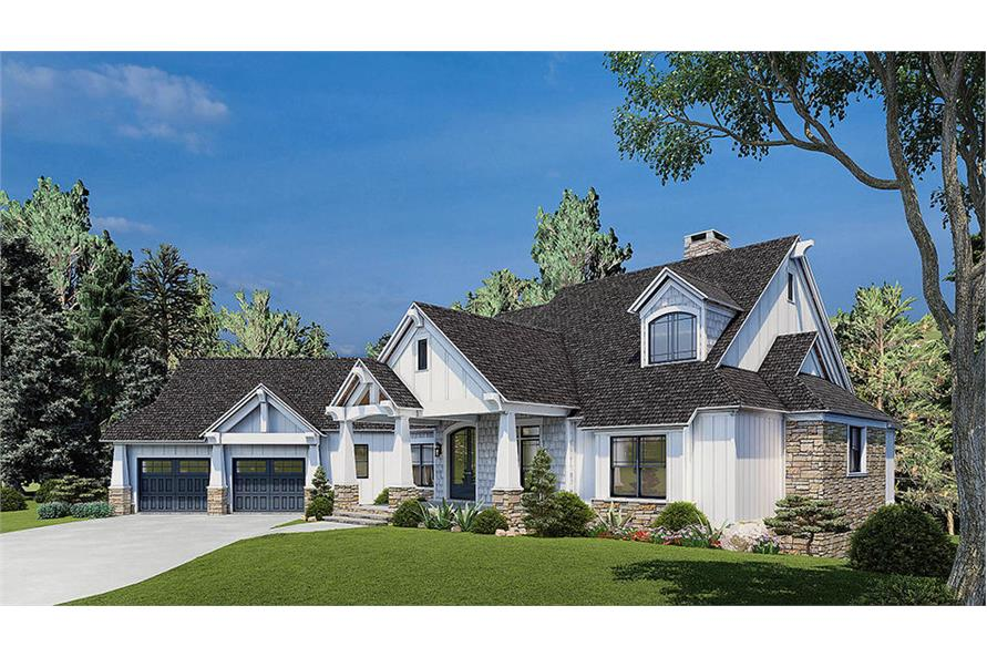 Right View of this 5-Bedroom,4736 Sq Ft Plan -153-2040