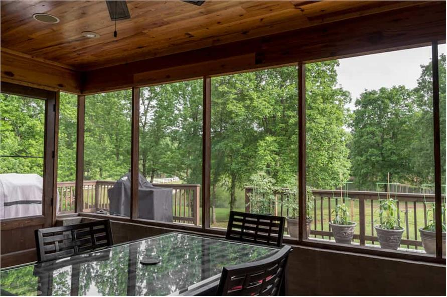 Grilling Porch of this 4-Bedroom,2470 Sq Ft Plan -2470