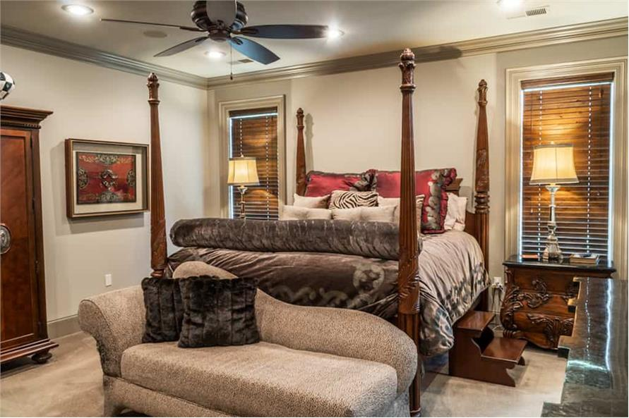Master Bedroom of this 4-Bedroom,2470 Sq Ft Plan -2470