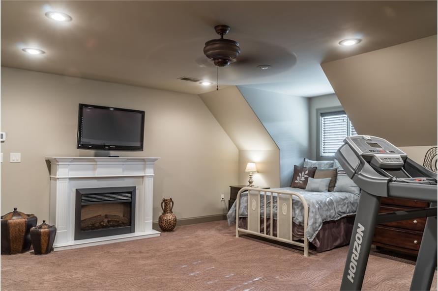 Bonus Room of this 4-Bedroom,2470 Sq Ft Plan -2470