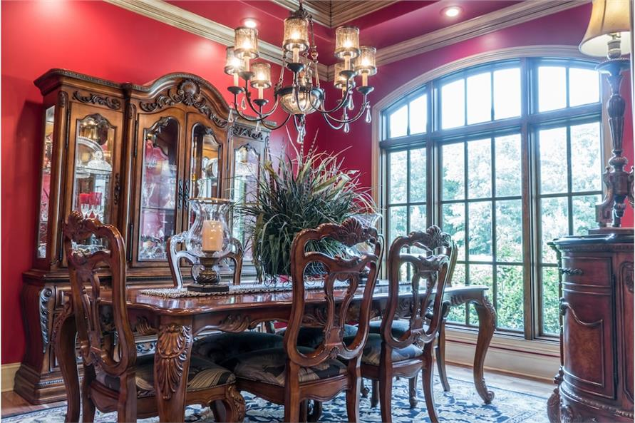 Dining Room of this 4-Bedroom,2470 Sq Ft Plan -2470