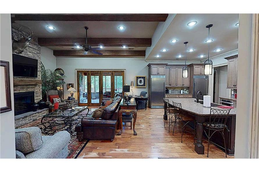 Great Room of this 4-Bedroom,2470 Sq Ft Plan -153-2050
