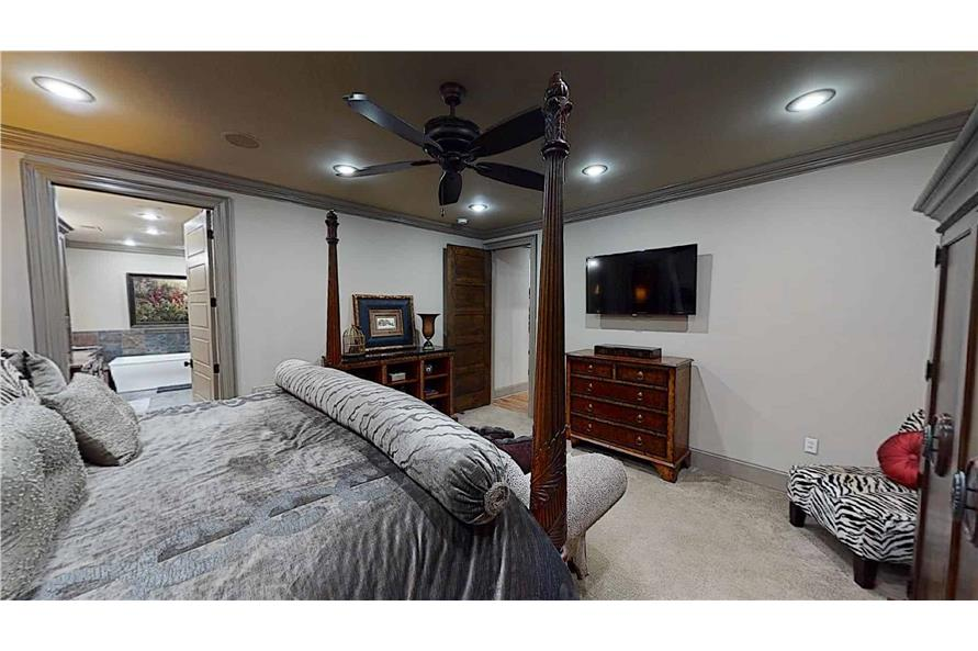 Master Bedroom of this 4-Bedroom,2470 Sq Ft Plan -153-2050