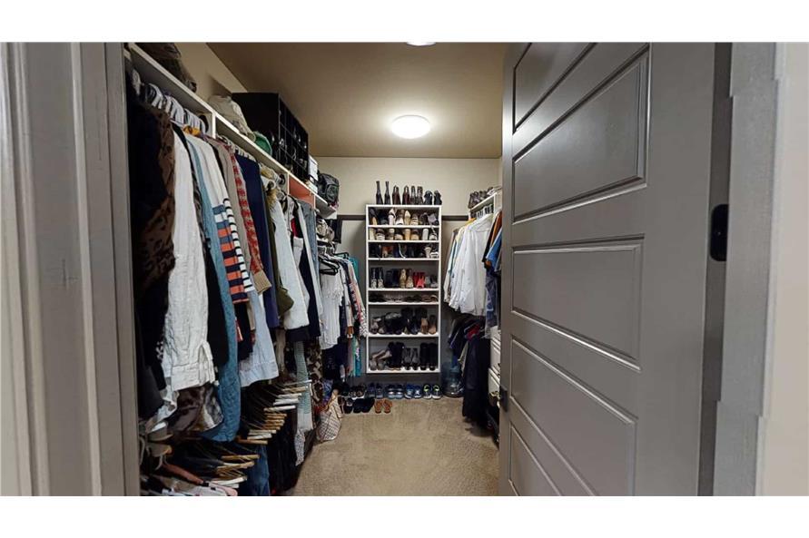 Master Bedroom: Closet of this 4-Bedroom,2470 Sq Ft Plan -153-2050