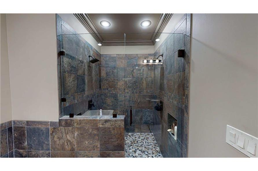 Master Bathroom: Shower of this 4-Bedroom,2470 Sq Ft Plan -153-2050