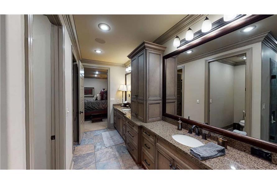 Master Bathroom: Sink/Vanity of this 4-Bedroom,2470 Sq Ft Plan -153-2050