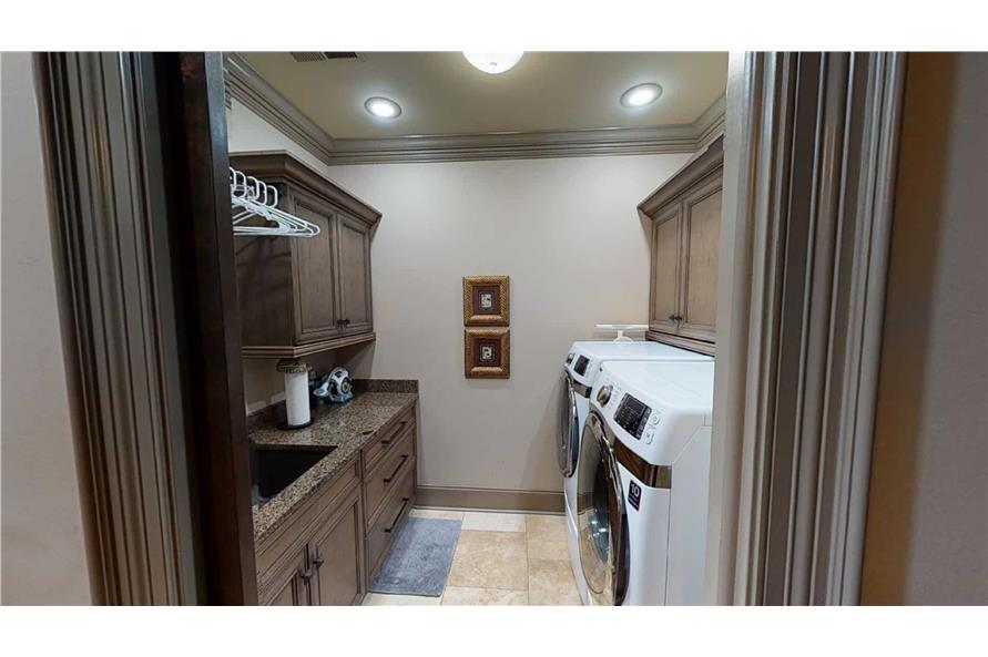 Laundry Room of this 4-Bedroom,2470 Sq Ft Plan -153-2050