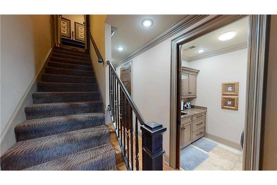 Stairs of this 4-Bedroom,2470 Sq Ft Plan -153-2050