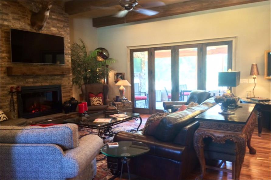 Great Room of this 4-Bedroom,2470 Sq Ft Plan -2470