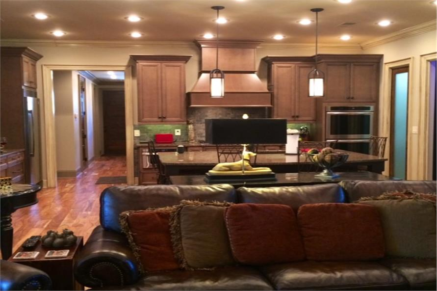 153-2050: Home Interior Photograph-Kitchen