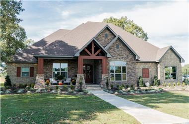 Craftsman style home (ThePlanCollection: Plan #153-2050)