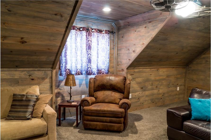 Bonus Room of this 3-Bedroom,2199 Sq Ft Plan -2199