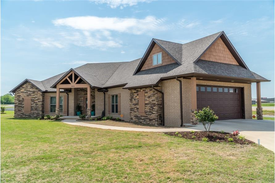 Home Exterior Photograph of this 3-Bedroom,2199 Sq Ft Plan -2199