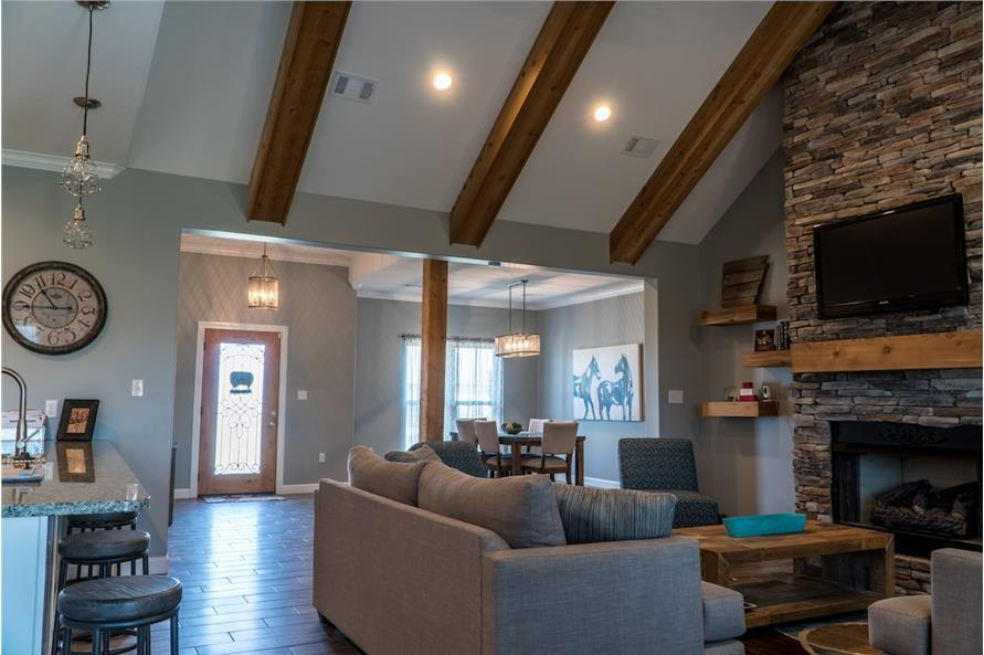 Great Room of this 3-Bedroom,2199 Sq Ft Plan -2199