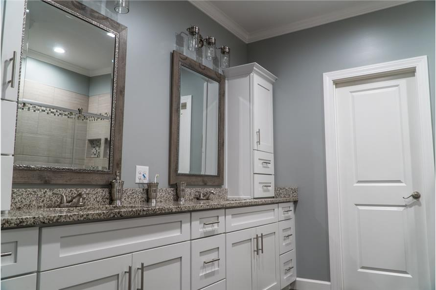 Master Bathroom of this 3-Bedroom,2199 Sq Ft Plan -2199