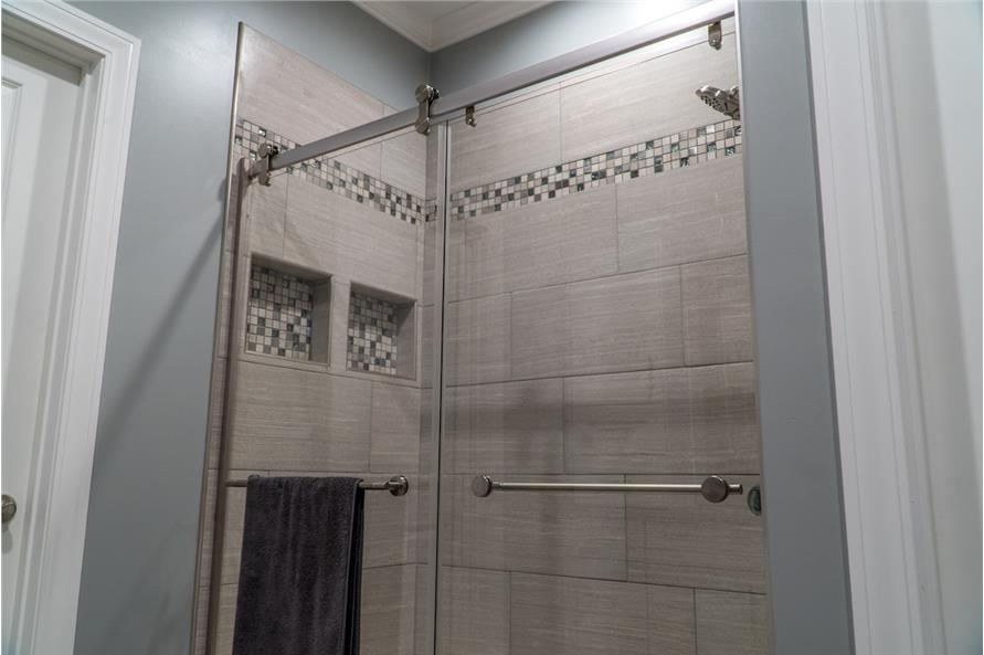 Master Bathroom: Shower of this 3-Bedroom,2199 Sq Ft Plan -2199
