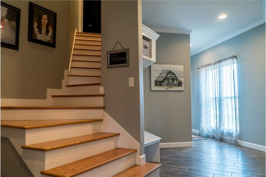 Entry Hall: Staircase of this 3-Bedroom,2199 Sq Ft Plan -2199