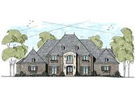 This is an artist's rendering for these Luxury European Home Plans.