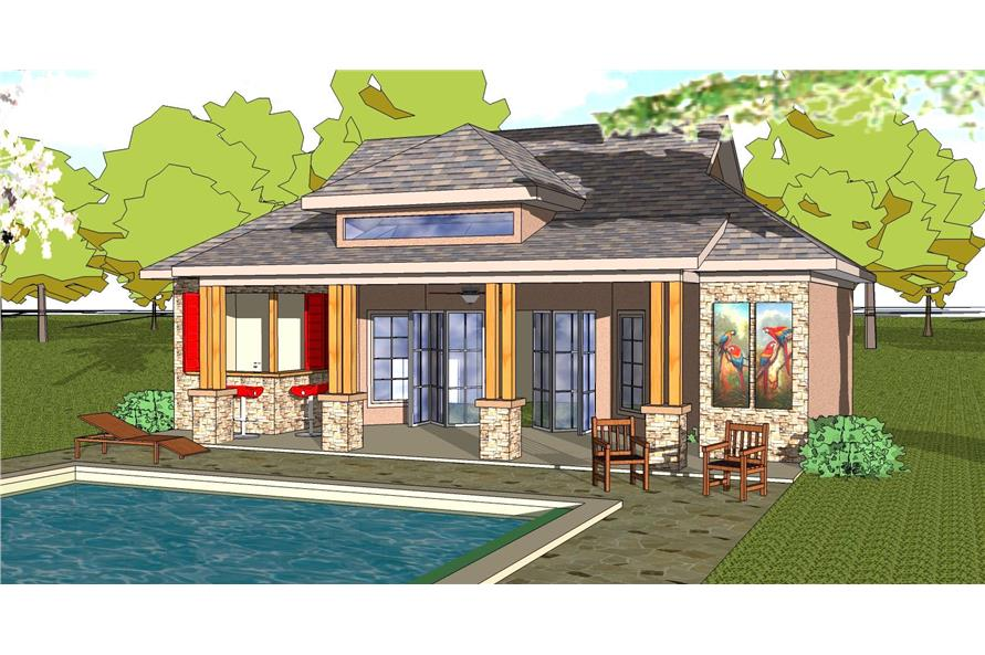 Vacation Homes House Plan 155 1012 1 Bedrm 701 Sq Ft