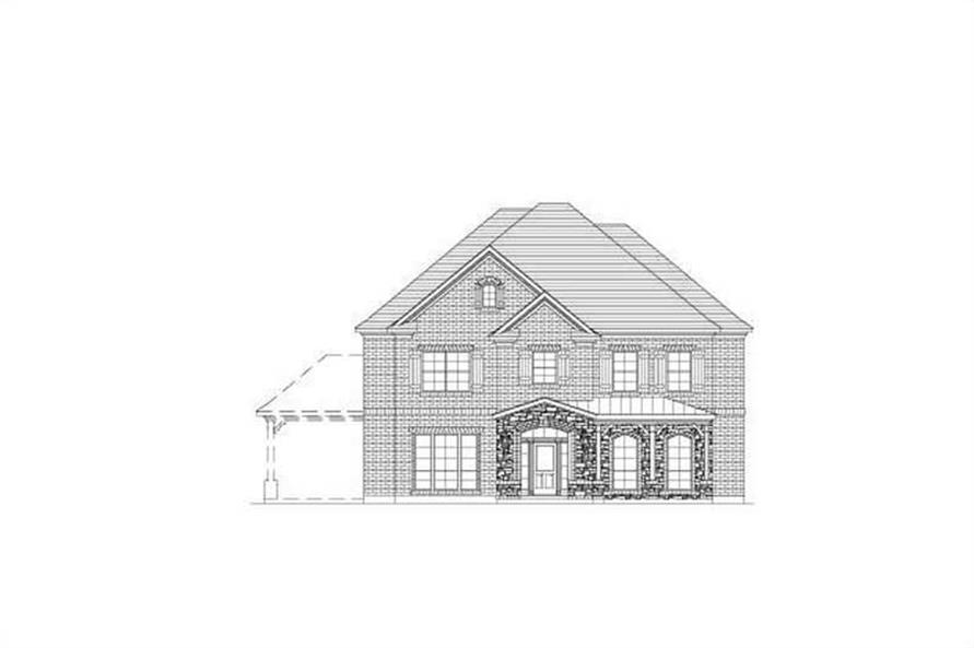 Main image for house plan # 16052