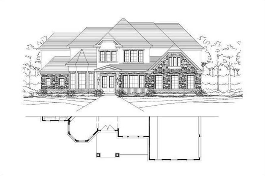 Main image for house plan # 16065