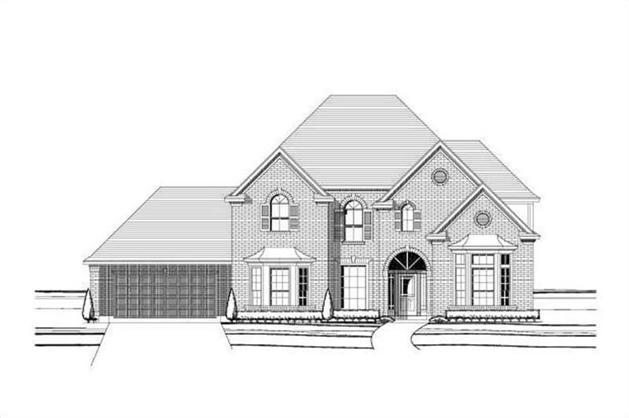 Main image for house plan # 16082