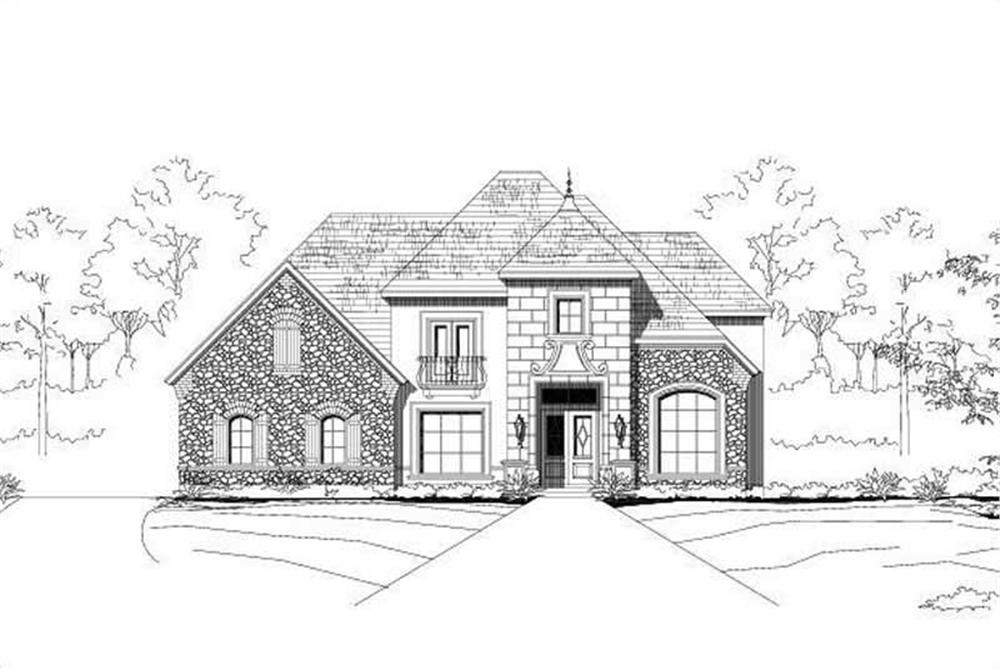 Main image for house plan # 16053