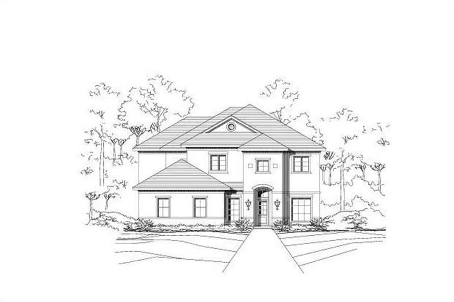 Main image for house plan # 16105