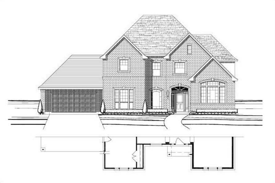 Main image for house plan # 16083