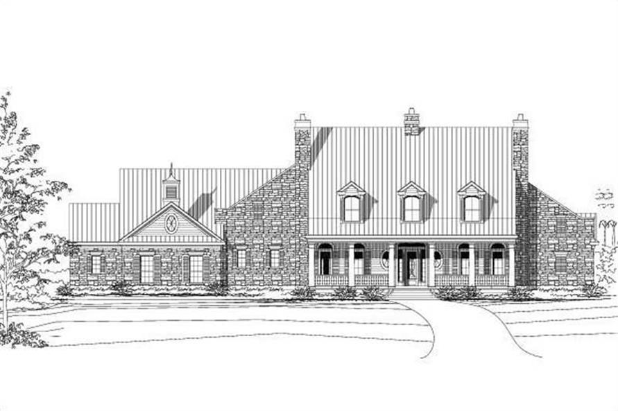 Main image for house plan # 16100