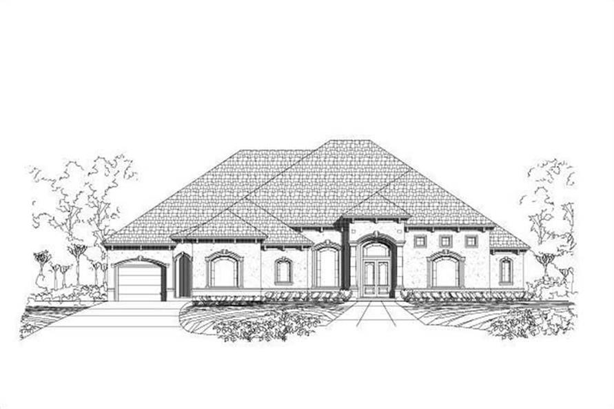 Main image for house plan # 16054