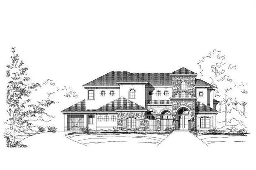 Main image for house plan # 16192