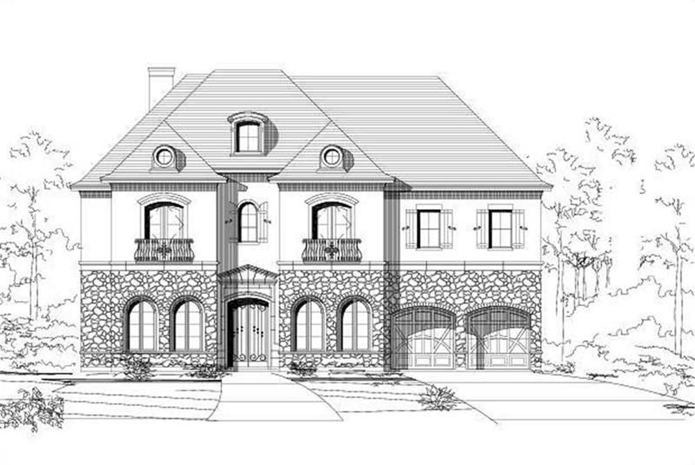 Main image for house plan # 16185