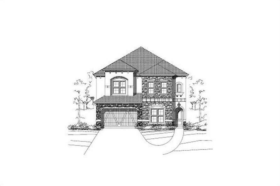 3-Bedroom, 4957 Sq Ft House Plan - 156-1051 - Front Exterior