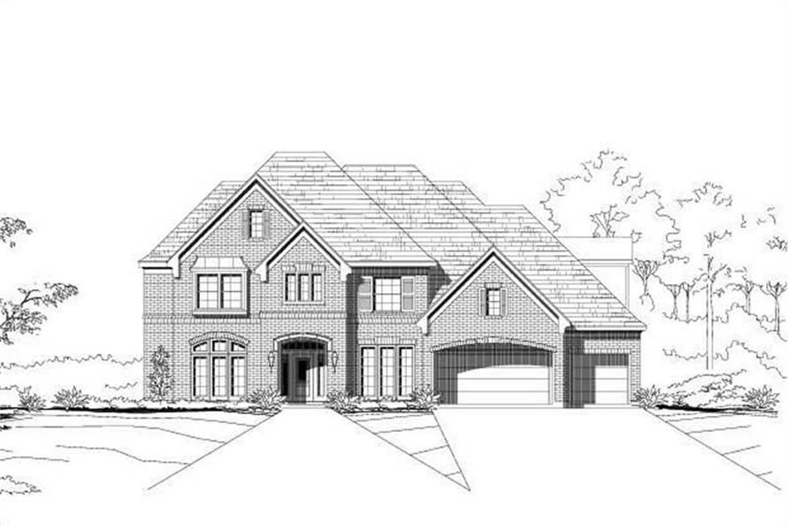 Main image for house plan # 16160