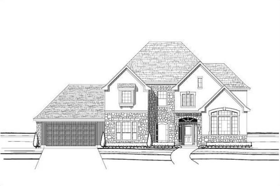Main image for house plan # 16132