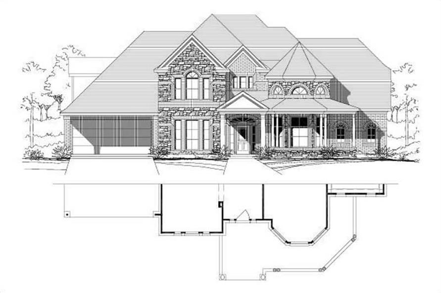 Main image for house plan # 16163