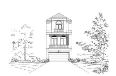 3-Bedroom, 2364 Sq Ft Traditional Home Plan - 156-1065 - Main Exterior