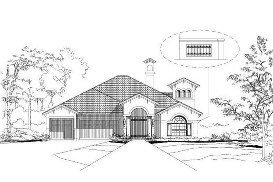 Main image for house plan # 16214