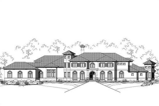 Main image for house plan # 15778
