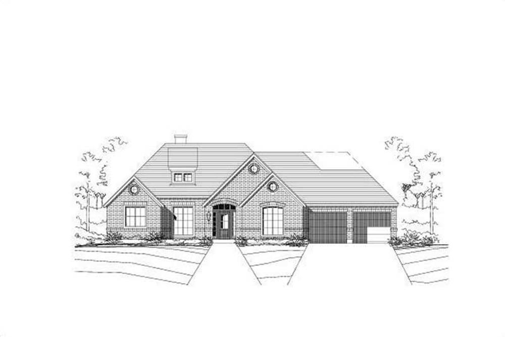 Main image for house plan # 16011